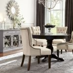Round Dining Room Tables Decoration Ideas 64