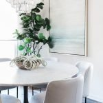 Round Dining Room Tables Decoration Ideas 66