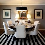 Round Dining Room Tables Decoration Ideas 69