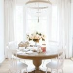 Round Dining Room Tables Decoration Ideas 71