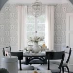 Round Dining Room Tables Decoration Ideas 73