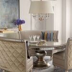 Round Dining Room Tables Decoration Ideas 74