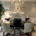 Round Dining Room Tables Decoration Ideas 75