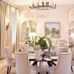 Round Dining Room Tables Decoration Ideas 76