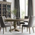 Round Dining Room Tables Decoration Ideas 82