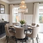 Round Dining Room Tables Decoration Ideas 89