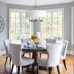 Round Dining Room Tables Decoration Ideas 90