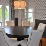 Round Dining Room Tables Decoration Ideas 91