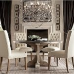 Round Dining Room Tables Decoration Ideas 92