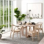 Round Dining Room Tables Decoration Ideas 97