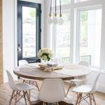 Round Dining Room Tables Decoration Ideas 102