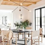 Round Dining Room Tables Decoration Ideas 104
