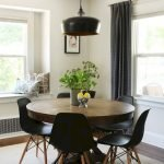 Round Dining Room Tables Decoration Ideas 107