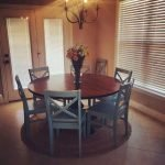 Round Dining Room Tables Decoration Ideas 108