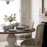Round Dining Room Tables Decoration Ideas 111