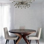 Round Dining Room Tables Decoration Ideas 112