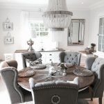 Round Dining Room Tables Decoration Ideas 113