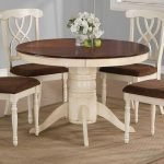 Round Dining Room Tables Decoration Ideas 115