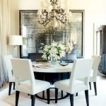 Round Dining Room Tables Decoration Ideas 116