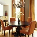 Round Dining Room Tables Decoration Ideas 117
