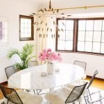 Round Dining Room Tables Decoration Ideas 119