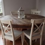 Round Dining Room Tables Decoration Ideas 125
