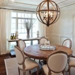 Round Dining Room Tables Decoration Ideas 131