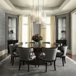 Round Dining Room Tables Decoration Ideas 134