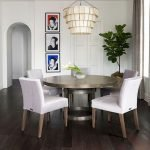 Round Dining Room Tables Decoration Ideas 135
