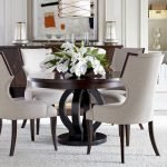 Round Dining Room Tables Decoration Ideas 139
