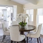Round Dining Room Tables Decoration Ideas 146