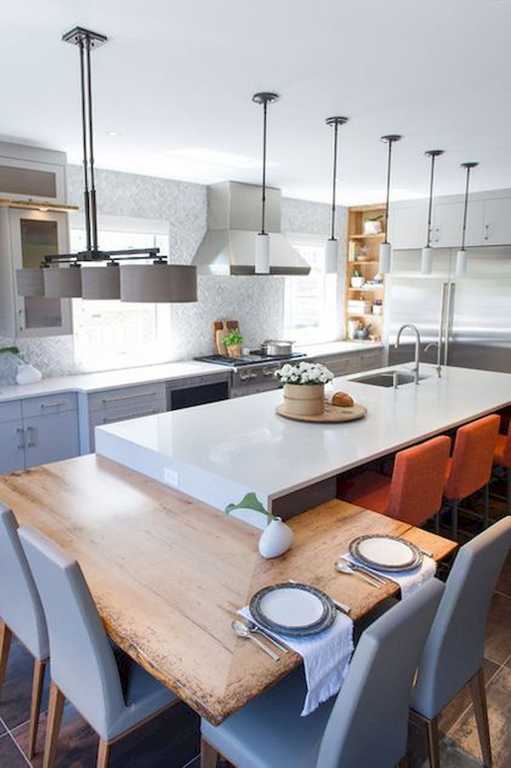 Small Island Kitchen Table017