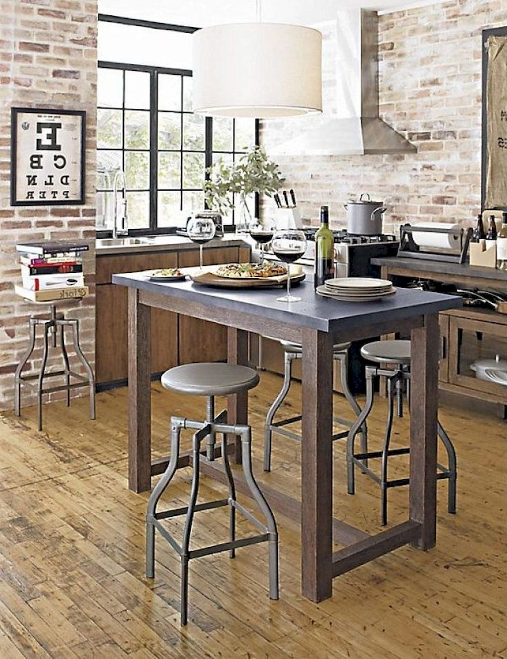 Small Island Kitchen Table020