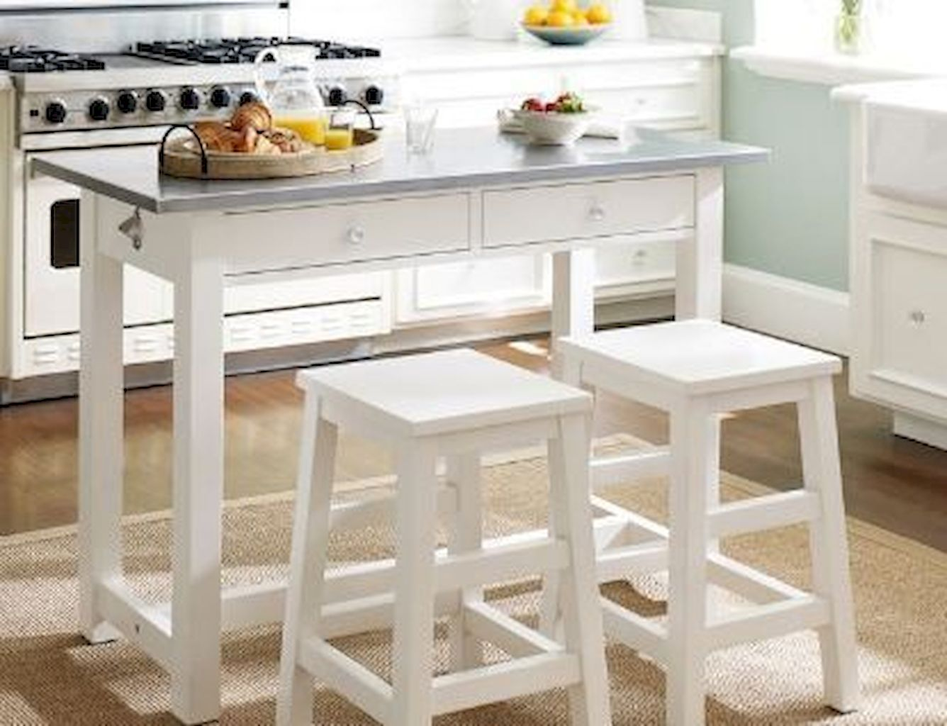 Small Island Kitchen Table024