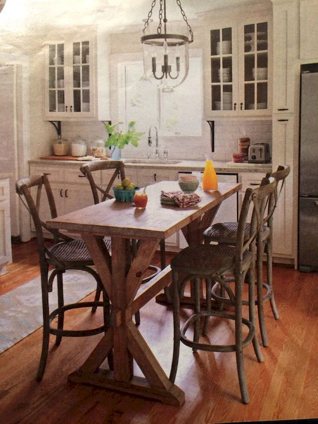 Small Island Kitchen Table032