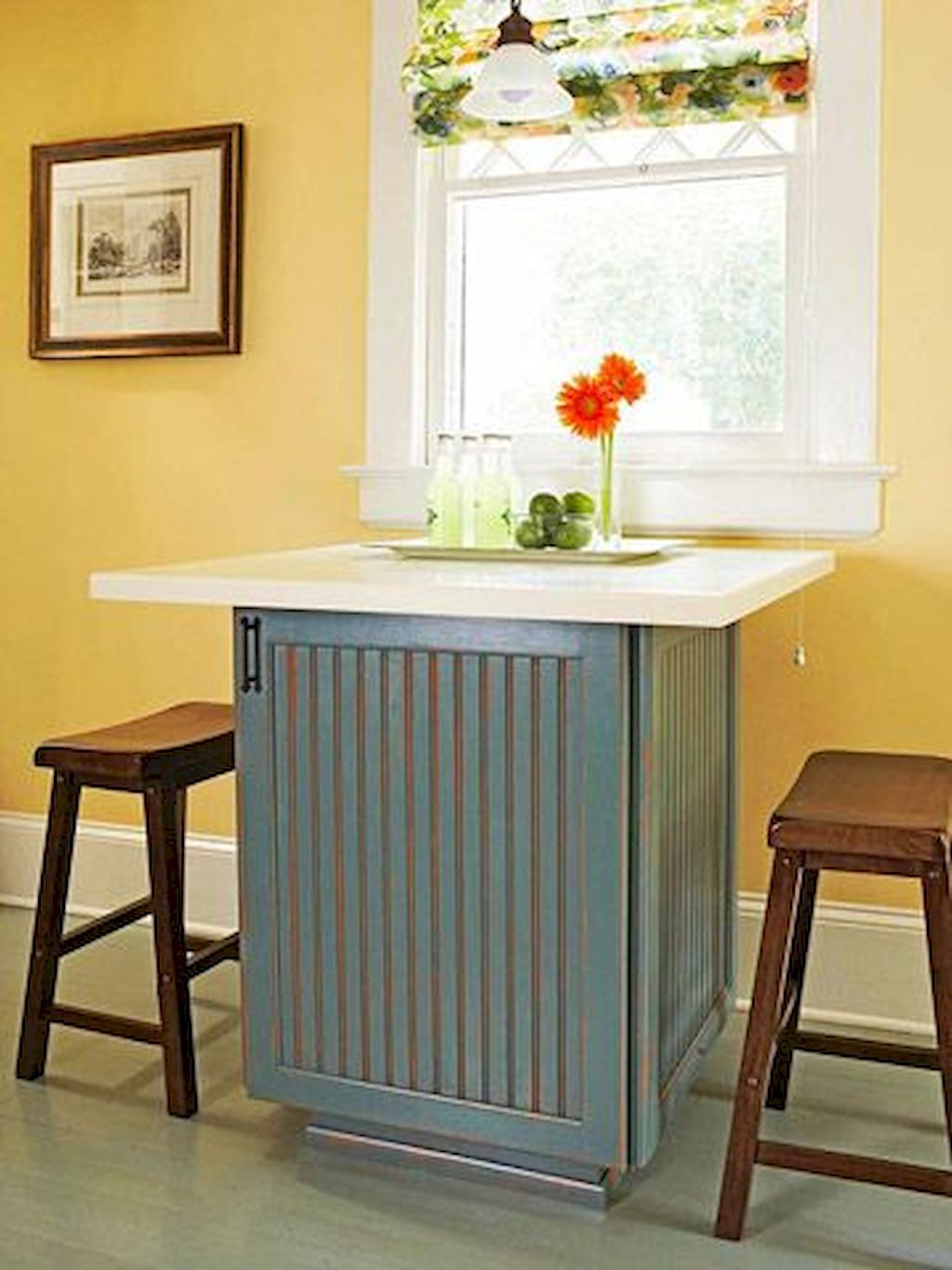 Small Island Kitchen Table039