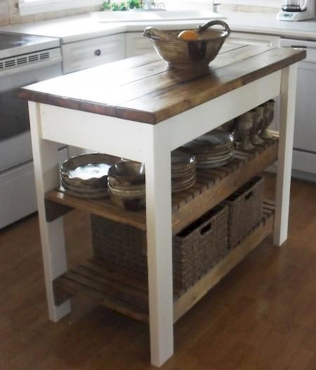 Small Island Kitchen Table076