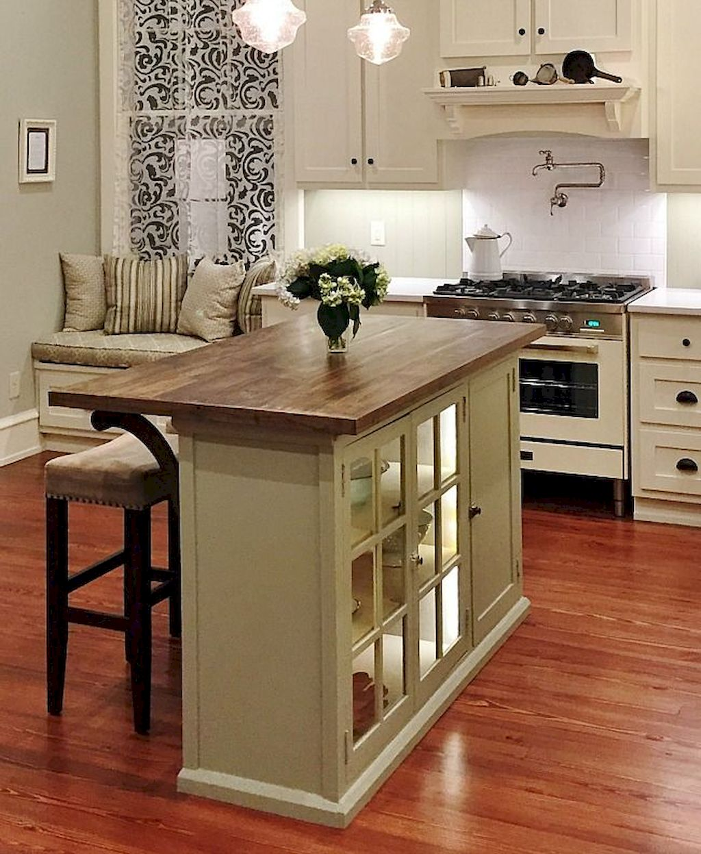 Small Island Kitchen Table078