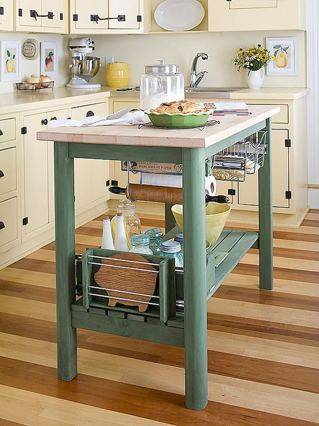 Small Island Kitchen Table080