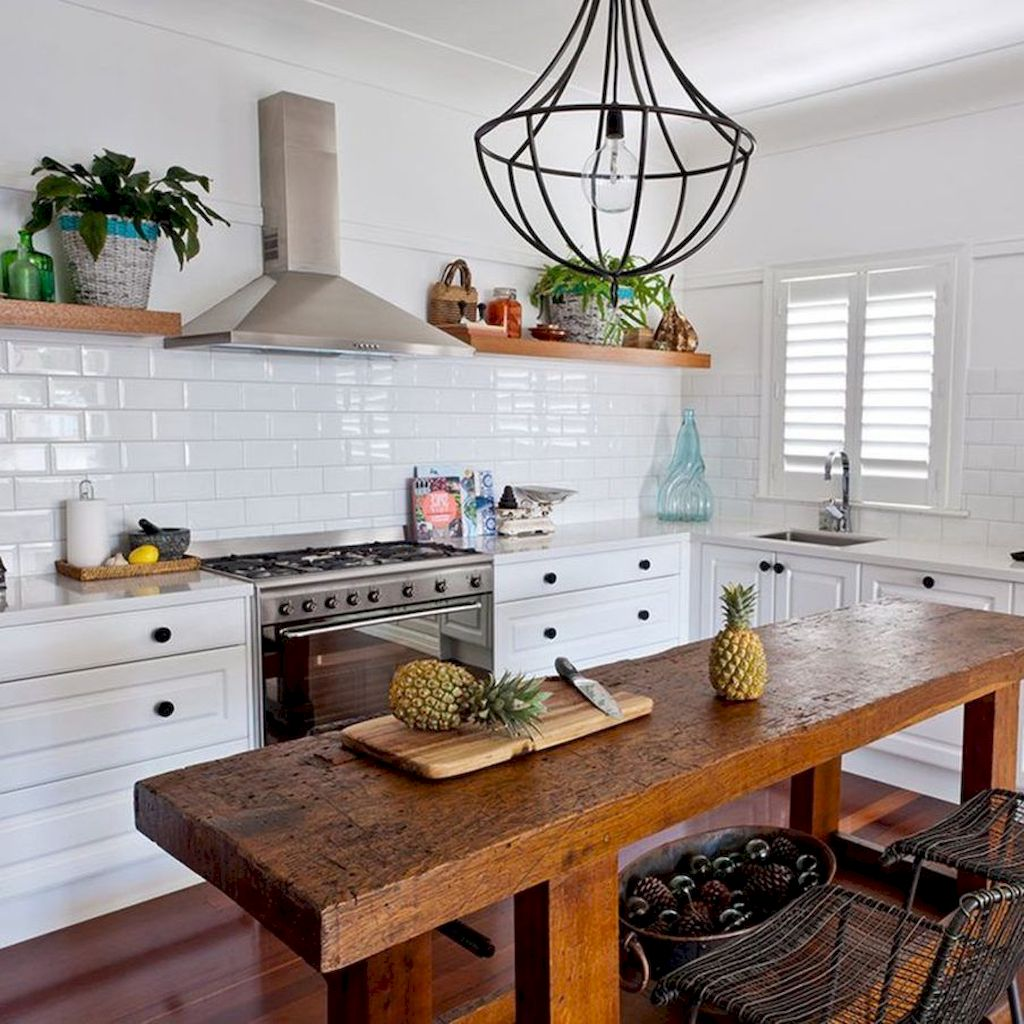 Small Island Kitchen Table081