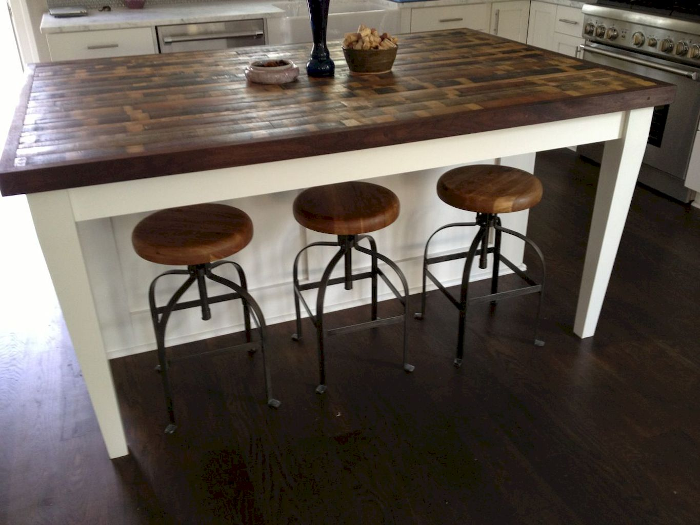 Small Island Kitchen Table085