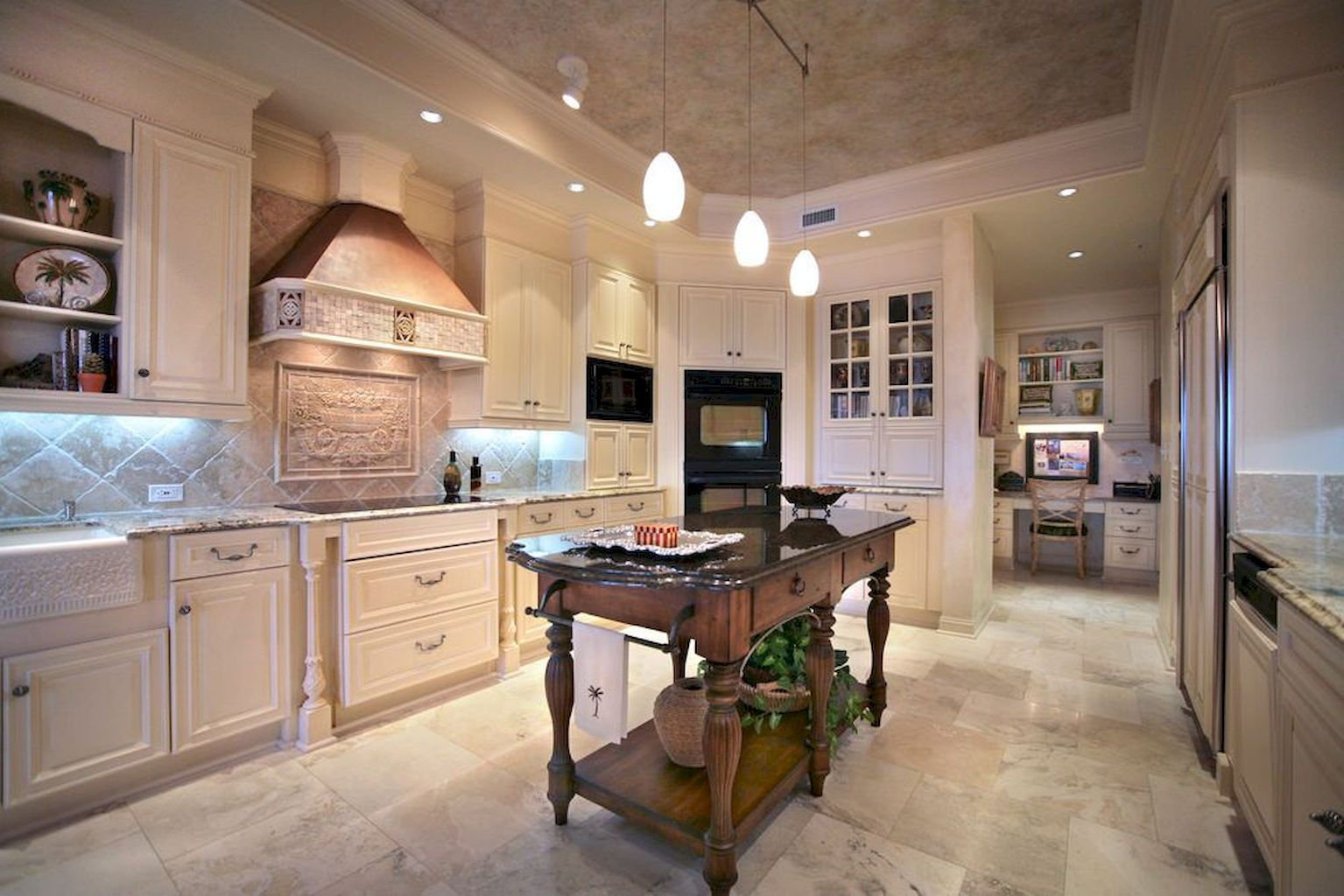Small Island Kitchen Table089