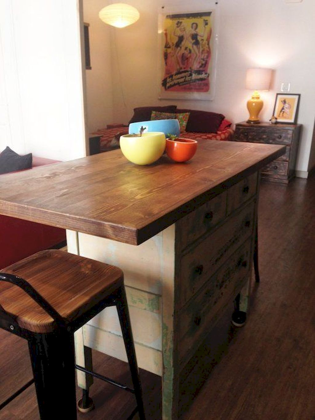 Small Island Kitchen Table107