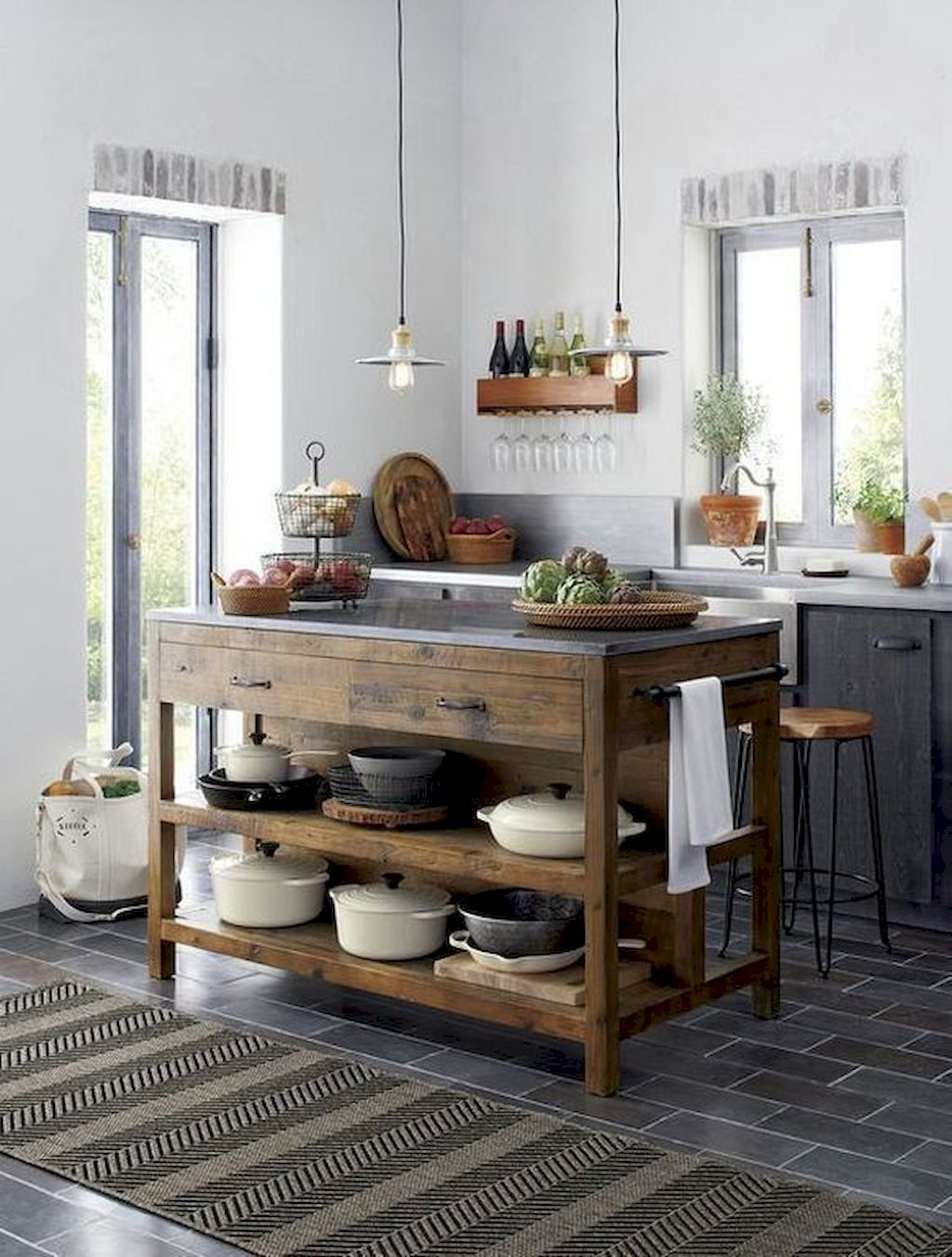 Small Island Kitchen Table117