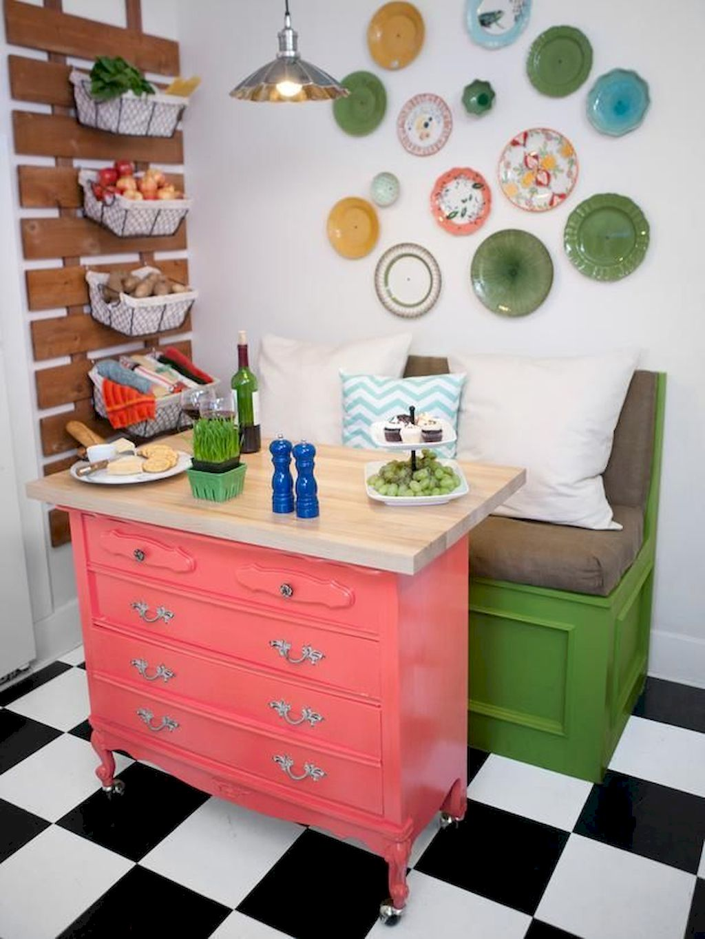 Small Island Kitchen Table127