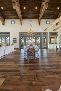 Stunning Rustic and Cheap Wooden Flooring Ideas 121