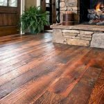 Stunning Rustic and Cheap Wooden Flooring Ideas 46