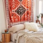 Bohemian Style Bedroom decoration Ideas 158