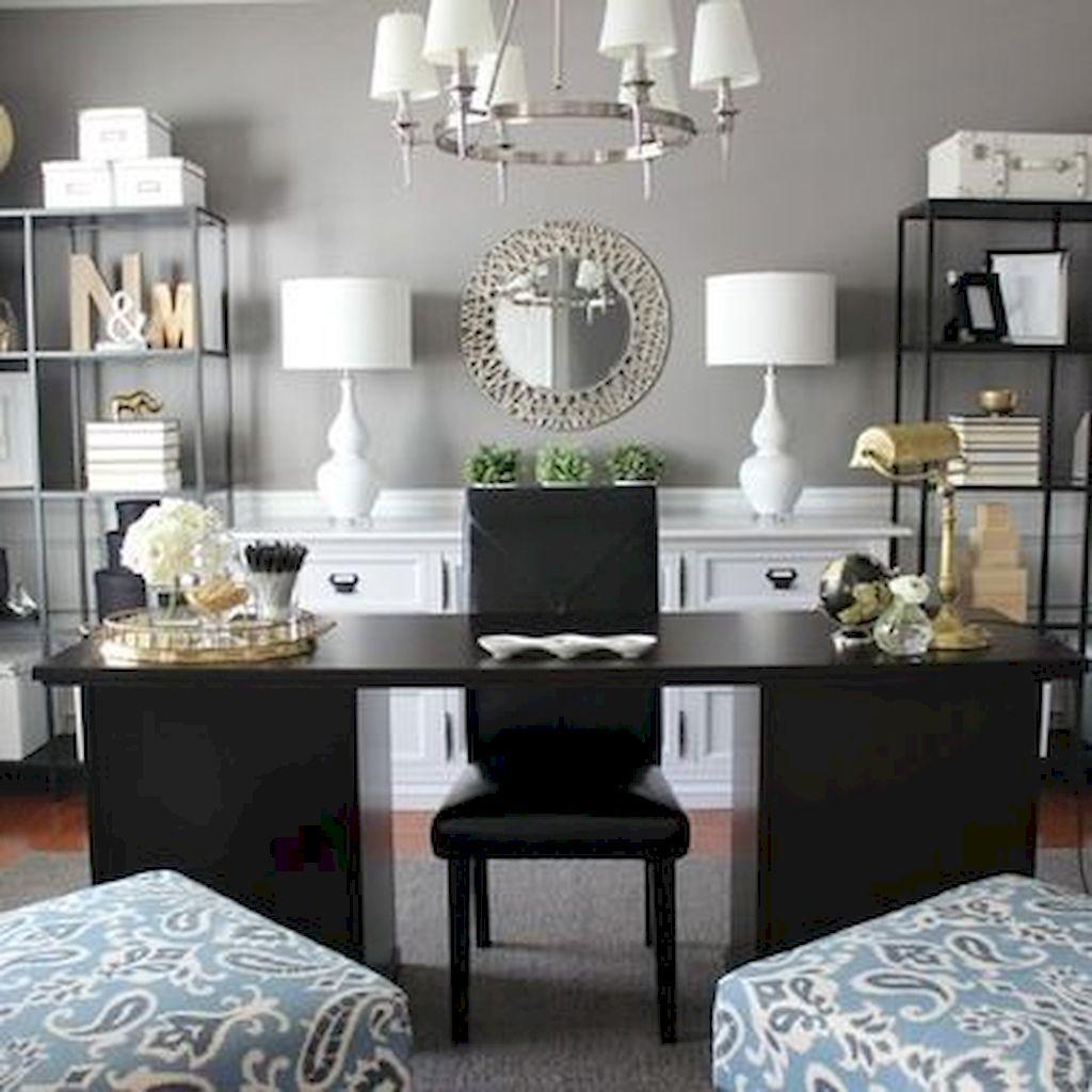 Modern Home Office Design Ideas 005