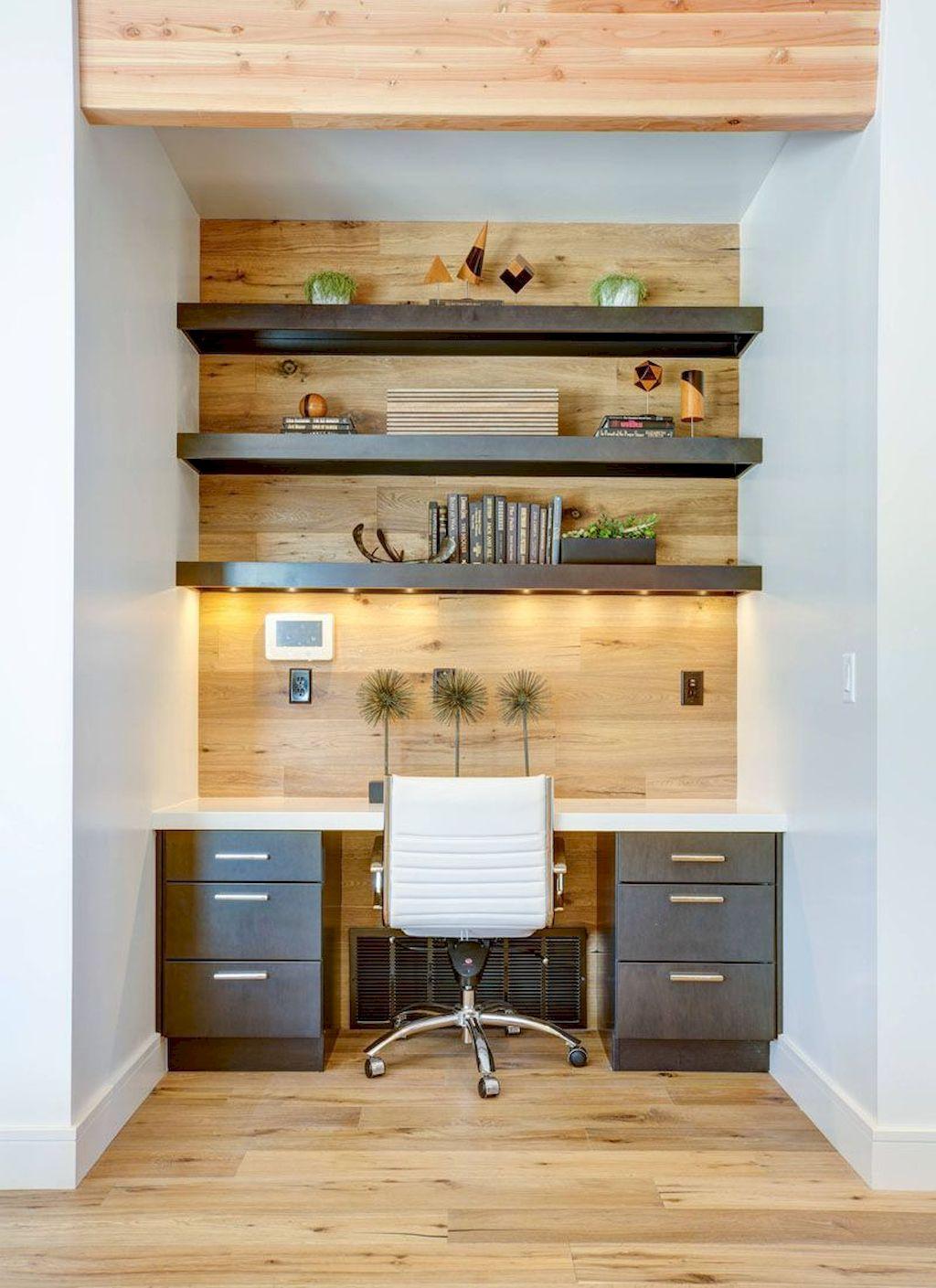 Modern Home Office Design Ideas 006